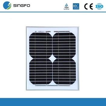 Cheap China 12V Solar Panel 10W Monocrystalline PV Module Solar Charger Solar Kits Portable Small Panneau Solaire 10 Watt