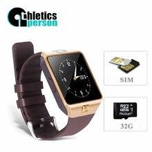 2016 neue Smart Uhr dz09 Mit Kamera Bluetooth Armbanduhr SIM-TF-KARTE Smartwatch Für Ios Android Handys Support Multi sprachen