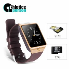 2016 New Smart Watch dz09 With Camera Bluetooth WristWatch SIM TF Card Smartwatch For Ios Android Phones Support Multi languages