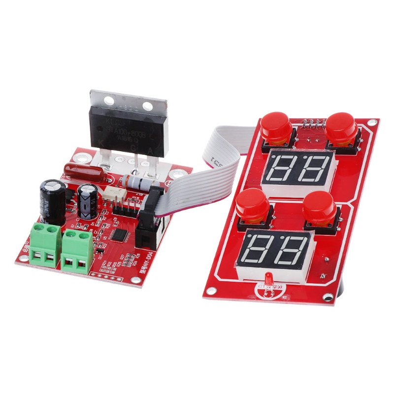 NY D04 40A 100A Digital Display Spot Welding Machine Controller Time Panel Board in Spot Welders from Tools