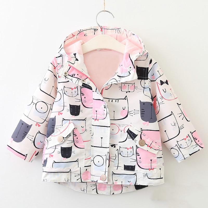 Qız palto 2019 İsti Satış Bahar Qız geyimləri Gül - Uşaq geyimləri - Fotoqrafiya 5