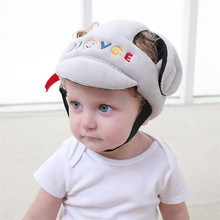 JJOVCE Baby Head protection Hat  baby toddler Drop crash cap shatter-resistant child safety helmets head cap Walking Assistant