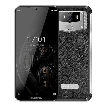 Перейти на Алиэкспресс и купить OUKITEL K12 Android 9,0 10000 мАч мобильный телефон 6,3 дюймов MTK6765 6G Оперативная память 64G Встроенная память NFC 5V/6A Quick Charge отпечатков пальцев 4G смартфон