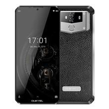 Видит К12 Android-смартфона мобильного телефона 10000mAh 9.0 6.3 дюйма MTK6765 6Г оперативной памяти 64 г ROM с поддержкой NFC 5в/6а быстрая зарядка 4G отпечатков пальцев