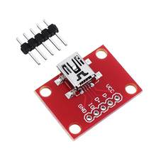 CLAITE miniUSB Converter Module Convertsion Board For USB Mini-B Power Extension Circuit(China)
