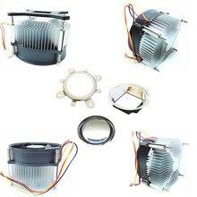 50w 100w high power led heatsink DC 12V 1.2A led cooling fan +44mm lens kit
