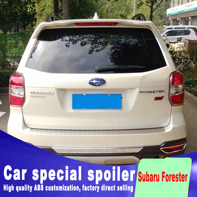 2013 2014 2015 2016 For Subaru Forester Spoiler High Quality Abs