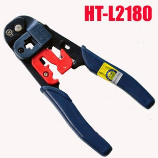Original HT-L2180 RJ45 Crimping Tool - Network RJ45 8P8C Plug Terminal Crimping Tool - With Cutter network socket hr 911105 c brand new goods in stock network transformer 59 8 p 8 c bring lamp bring shrapnel rj 45