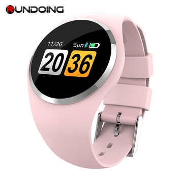 RUNDOING Q1 Color LCD Screen Smart Wristband Blood Pressure Heart Rate Monitor women smart band Fitness Tracker Smart Bracelet - DISCOUNT ITEM  32% OFF All Category