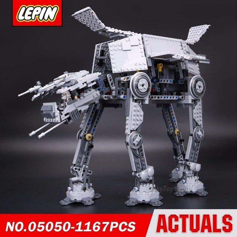 Lepin 05050 At-at Transpotation 75054 Star Series Wars Model Building Block Brick Kits Compatible Toys конструктор lepin star plan бронированный шагоход at at 1137 дет 05050