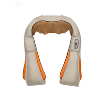 Kneading Home Back And Neck Shiatsu Cervical Massager Device Electric Shawls Heat Relaxing Car Vibrater Massage