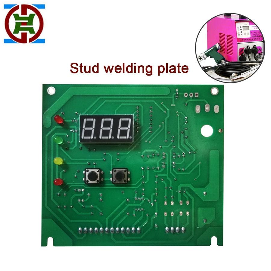 YDT RSR1600 RSR2500 stud welding machine control panel for DIY capacitor stud welders
