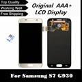 100% original nuevo lcd de repuesto para samsung galaxy s7 g930 g930f g930a g930v g930p g930t g930r4 g930w8 teléfono pantalla lcd