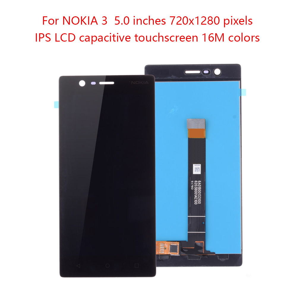 Original 5.0For NOKIA 3 LCD Touch Screen Digitizer For NOKIA 3 LCD Display Replacement N3 LCD TA-1020 TA-1028 TA-1032 TA-1038Original 5.0For NOKIA 3 LCD Touch Screen Digitizer For NOKIA 3 LCD Display Replacement N3 LCD TA-1020 TA-1028 TA-1032 TA-1038