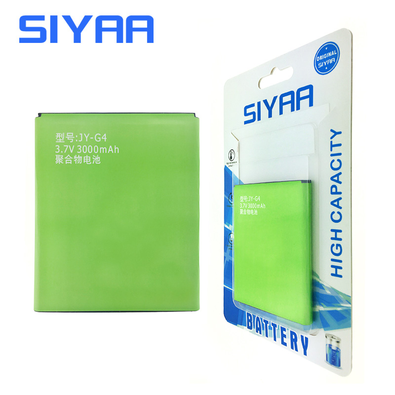 Original SIYAA JY-G4 Battery Fo JIAYU JY G4 G4S G4T JYG4 High Capacity 3000mAh Best Quality Replacement Lithium Polymer Batteria