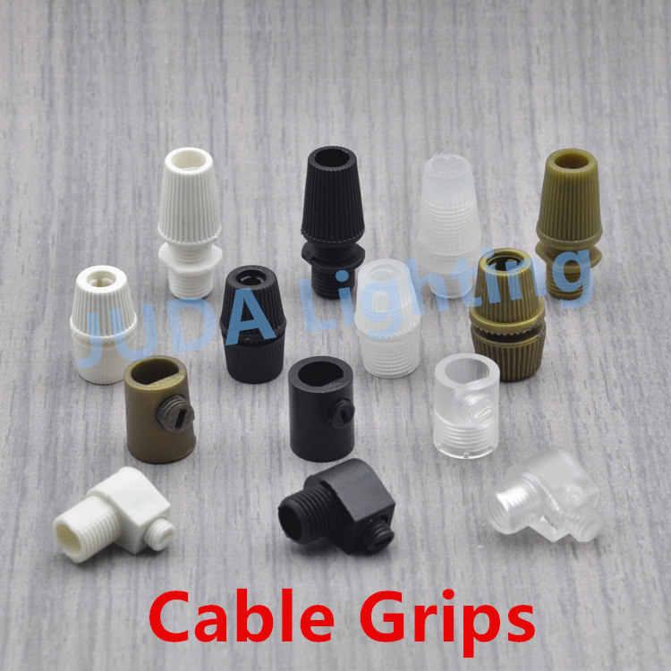 Hebilla de alambre de plástico, tapa de bloqueo M10, clip de cable dental para lámpara de techo, lámpara led, arandela de plástico M4, tuerca de plástico