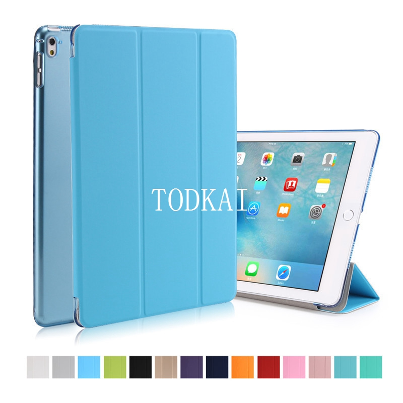 for iPad air 2 Pro 9.7 Luxury Full Body Slim Stand Smart Auto Wake Sleep Pu Leather Clear Back Cover Case for iPad Air 2+stylus sgl luxury ultra smart stand cover for ipad air 1 ipad5 case luxury pu leather cover with sleep wake up function for ipad air1