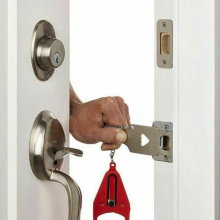Безопасный замок на дверь заменяет для Addalock совместимый для путешествий замок Противоугонная аппаратная безопасность конфиденциальность Отель домашний портативный
