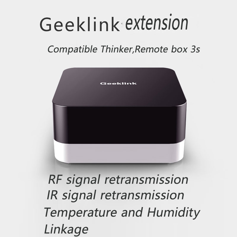 Geeklink Extension Intelligent Controller,Smart Home Automation Wireless Switch,WiFi+RF+IR Remote Control Via IOS Android 2