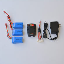 WLTOYS A959 A969 A979-B K929-B High speed Rc Car 7.4V 1400Mah Li-Po Battery Spare parts(China)