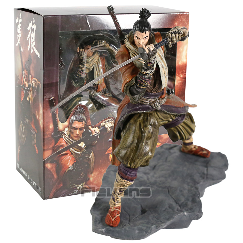 New Sekiro Shadows Die Twice Collector/'s Edition Shinobi Figure Statue No Box