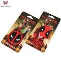 Super Q estilo de dibujos animados Anime Llavero Llavero PVC Llavero Deadpool Superhéroe Figura de Acción de Juguete Llavero Colgante ZKDP2S