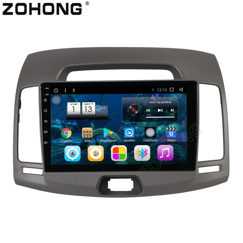 2 5D 9inch 8 Core Android 8 1 RAM 2G CAR gps Navigation Radio For Hyundai