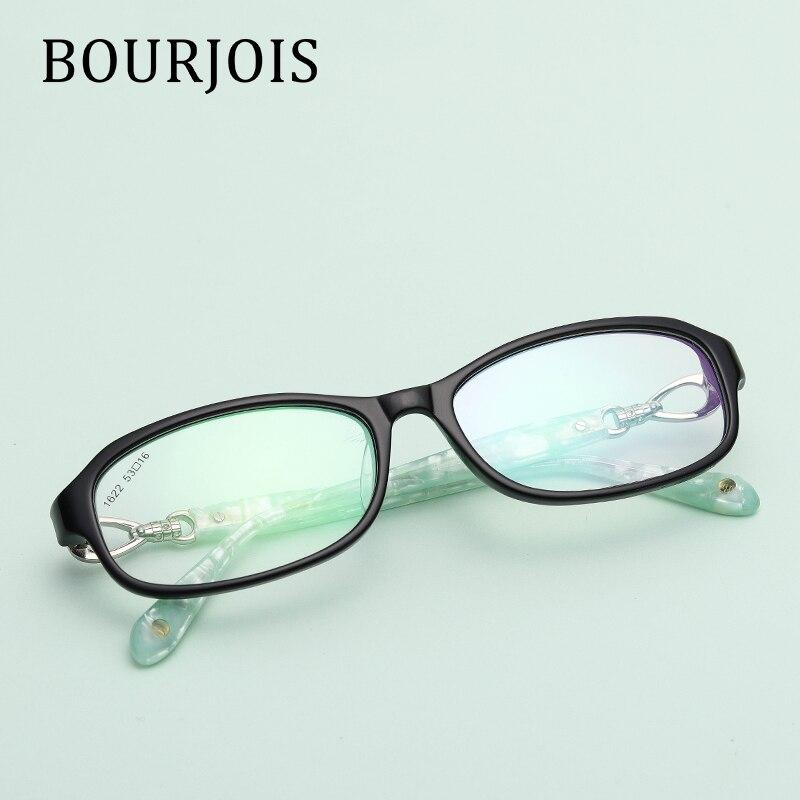 vintage acetate square eye glasses for women designer fashionable brand modern optic comfortable glasses frame 1622 in eyewear frames from womens - Modern Glasses Frames