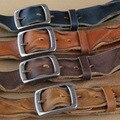 Cinto de couro Cintos de Grife Homens de Alta Qualidade Retro Cinto Mens Cintos de Luxo Cinta Ceinture Cinturones Hombre Homme Marque Cowboy