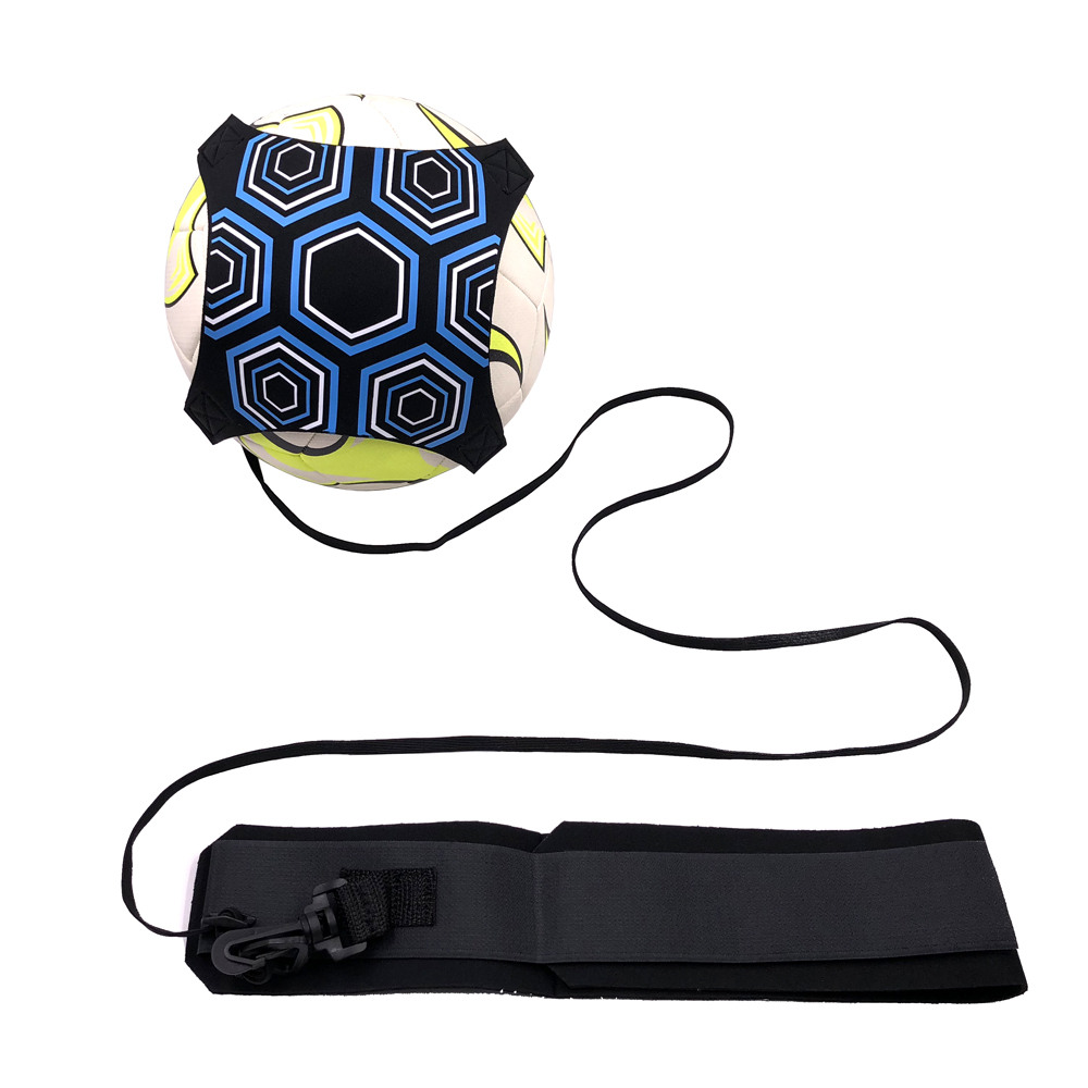 New Soccer Ball Practice Belt Football Kick Training Belt Adjustable Hands Free Kids Adult Soccer Trainer Equipment Dropshipping