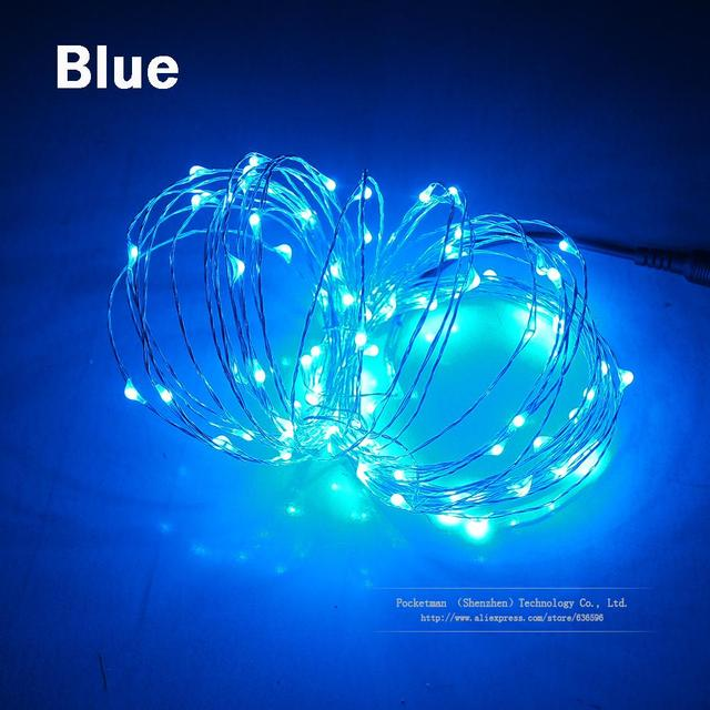 New 3m 30leds Battery Mini Led Copper Wire String Fairy Sparkle Lights Party Xmas Waterproof