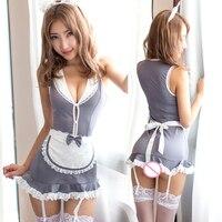 مثير خادمة الموحدة جنسي ساخن الدانتيل تيدي بيبي دول ثوب الاباحية المثيرة خادمة ازياء ملابس داخلية مثيرة