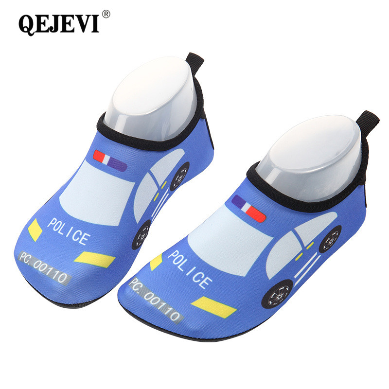 2018 Summer Baby Shoes Girls Boy Barefoot Beach Water Shoes Cartoon Aqua Flat Socks Outdoor Swimming Shoe Breathable Quick dry
