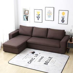 Image 2 - Parkshin Feather Slipcover Stretch Sofa Covers Furniture Protector Polyester Loveseat Couch Cover Sofa Towel 1/2/3/4 seater