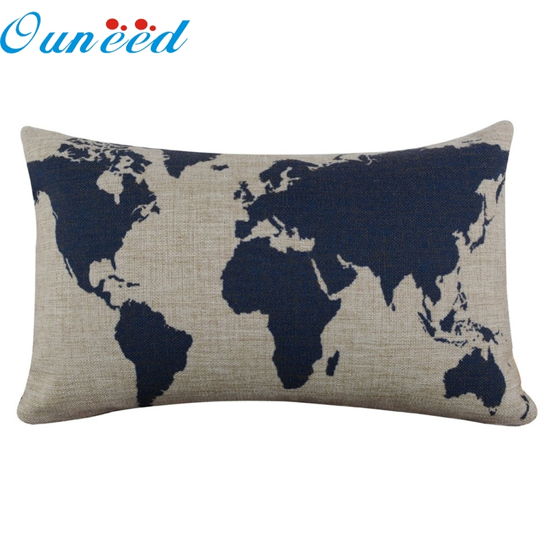 Us Map Pillow PromotionShop For Promotional Us Map Pillow On - Us map pillow