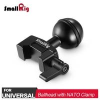 SmallRig Dual DSLR Camera Ballhead Extension Bar Magic Arms Monitor Mounts Quick Release Nato Clamp Rig 2133