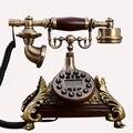 Europa Vintage Antike feste Telefone Festnetz telefon RetroTelephone Telefono Fijo Für Home Office wohnzimmer fixo antika-in Handys aus Handys & Telekommunikation bei