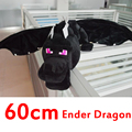 Alta qualidade 60 cm Minecraft Ender dragão de pelúcia brinquedos Minecraft enderdragon PP algodão de Minecraft dragão crianças brinquedos