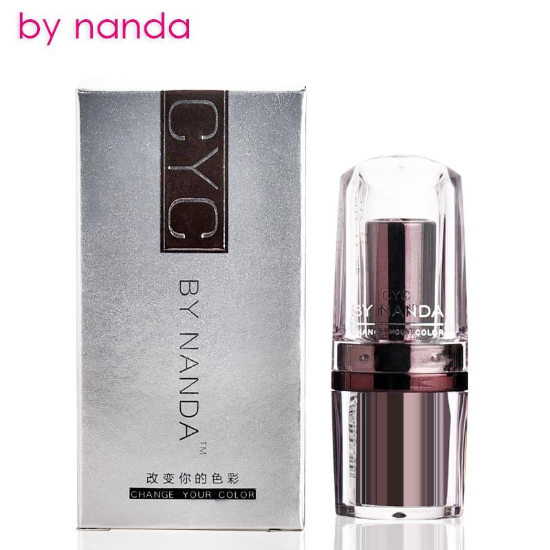 by nanda Transparent Flower lipstick Temperature Change Color Jelly Lipstick Lip Balm Gold Foil Makeup Maquiagem Lip Gloss in Lipstick from Beauty Health