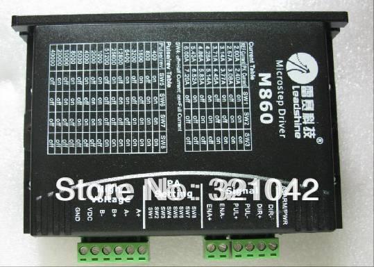 2 phase Leadshine M860 stepper motor driver CNC 24-80VDC output 2.0A-6A for nema 34 stepper motor блуза vero moda vero moda ve389ewvpi76