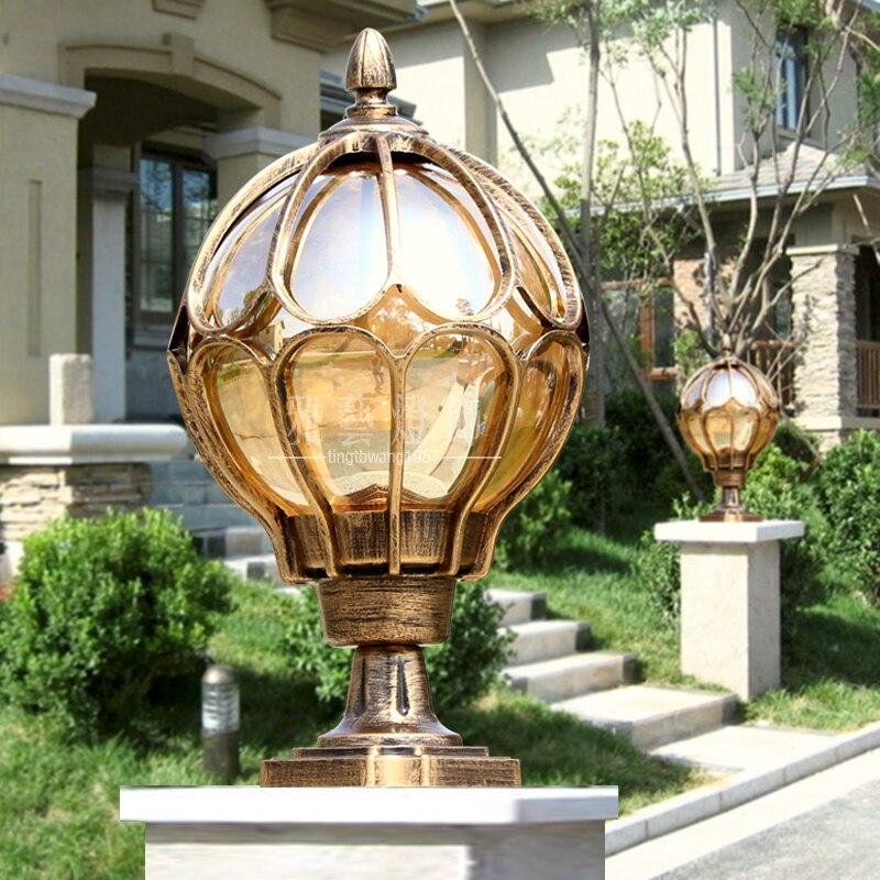 Applique murale à la mode, colonne, lampadaires, vintage, grand lampadaire