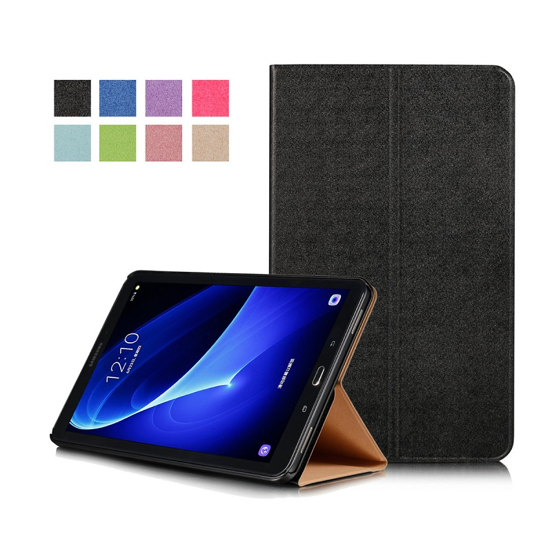 for Samsung Tab A T580 T585 Case Slim Smart PU Leather Sleeve for Samsung Tab A 10.1 inch T580 T585 Case PC Back Cover