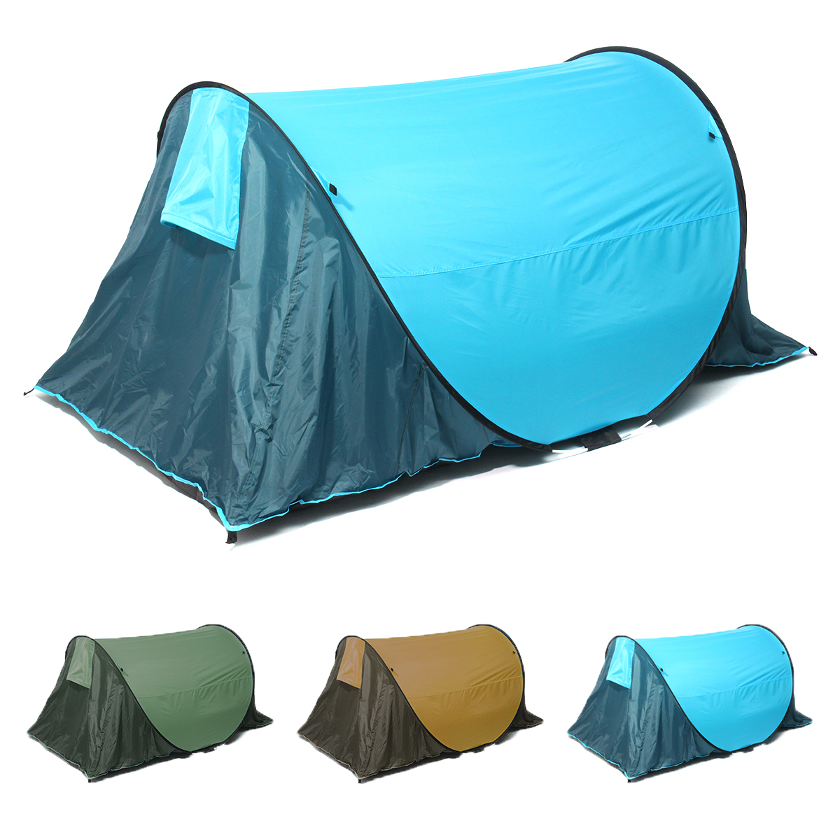 Super Light 1 Layer Tent Portable 2 Person Single Tents UV Protection Tents 4 Seasons Camping Outdoor Tent for Outdoor цена
