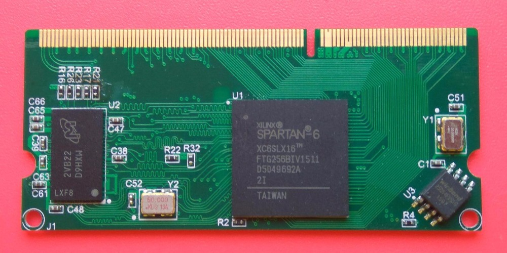 Xilinx Development Board Spartan6 XC6SLX16 Core Board FPGA Development Board DDR3 Interface Without Floor