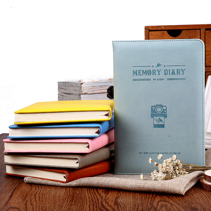 2017 A5 Memory Diary Note book office stationery notebook leather cover creative agenda journal planner notepad stationery gifts недорого