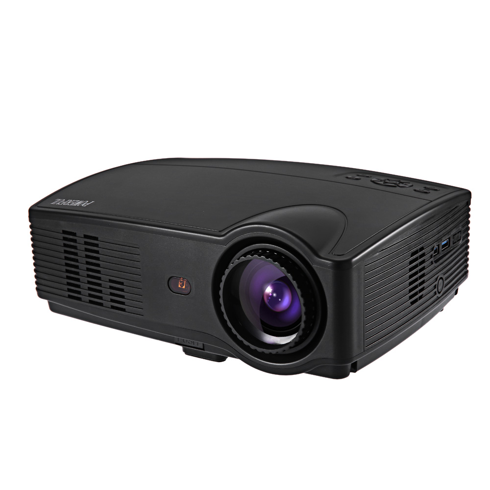 POWERFUL SV 328LH Home Theater LCD Projector 3000LM 1280 800 Pixels FHD 1080P Media Player for