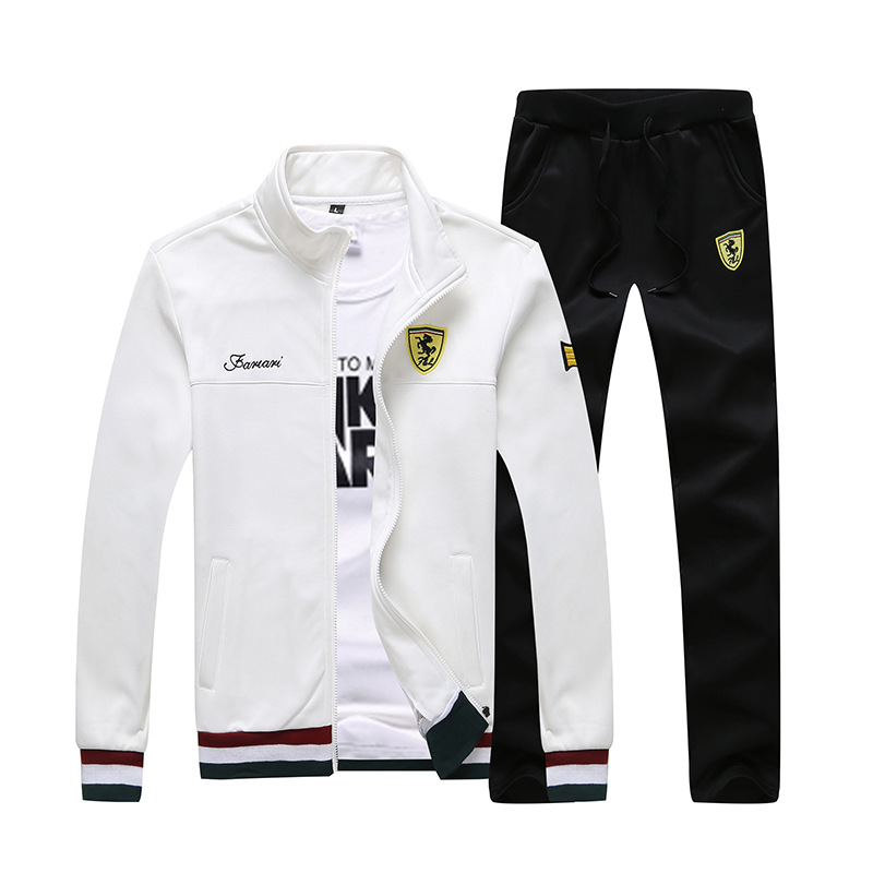 Bathroom Suit Men's New Long Sleeve Sports Suit For Students In 2019