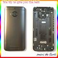 Nueva Para HTC Uno M9 M9 + Plus Contraportada Puerta de La Batería de Vivienda caso Para HTC Uno M9 + Piezas de Reparación con Logo + número de pista