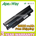 Apexway Battery 9 cells for Dell Inspiron 13R 14R 15R 17R N4010 N4110 N5010 N5030 N5110 N7010 N7110 n5050 M501 M5010 N3010 N3110
