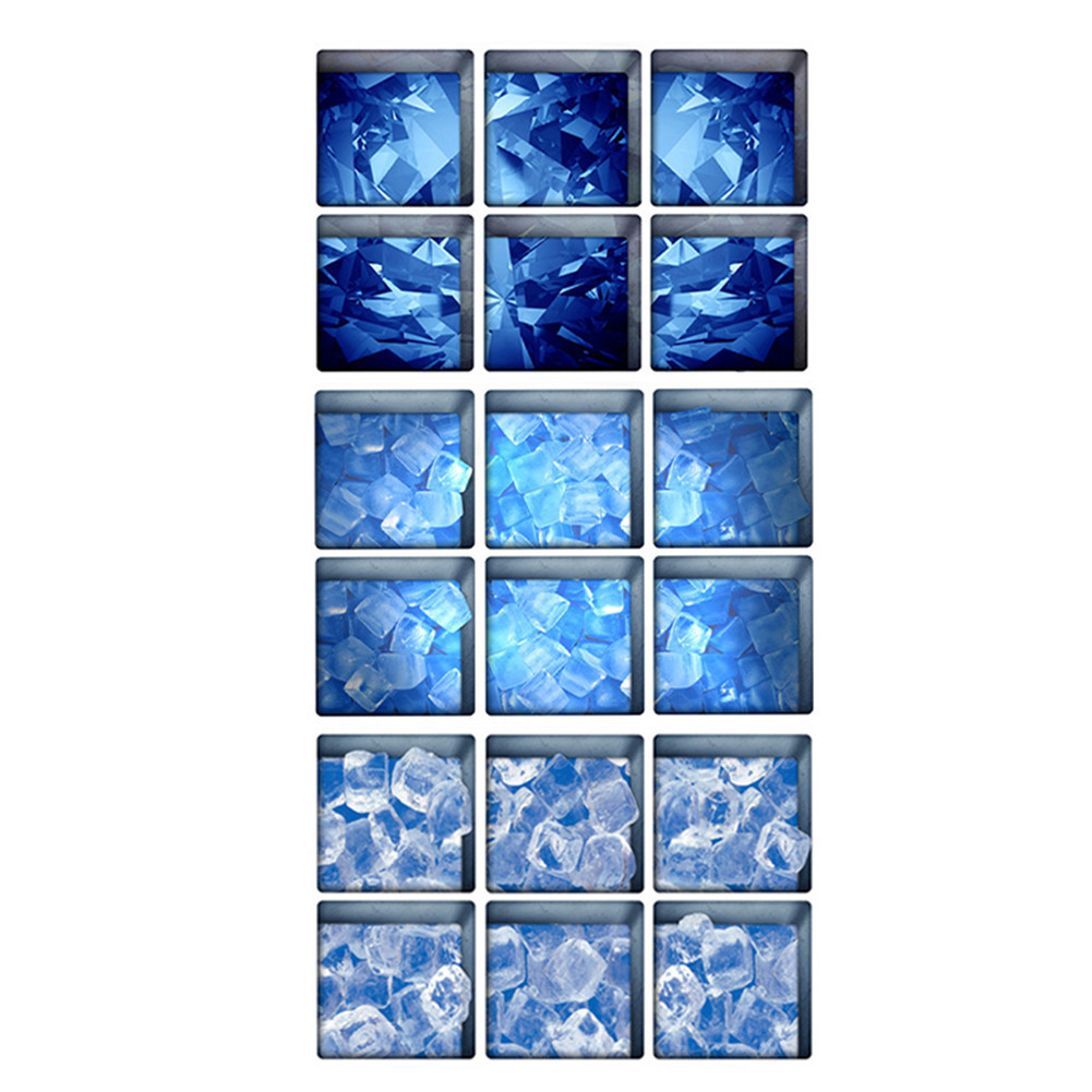 online get cheap diy bathtubs aliexpress com alibaba group 6pcs set blue creative 3d diy bathtub anti slip frosted stickers self adhesive